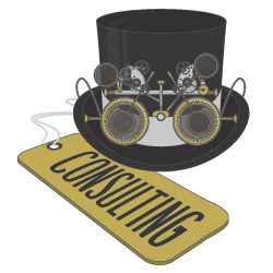 Consulting (Top Hat Logo)