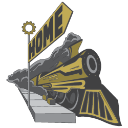 Home (Train Logo)